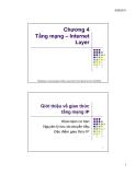 MMT C4: Tầng mạng - Internet layer