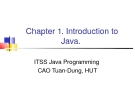 Java C1. Introduction to  Java