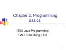Java C2. Programming  Basics