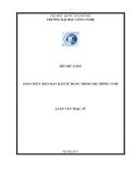 LUẬN VĂN:GIAO THỨC BẢO MẬT H.235 SỬ DỤNG TRONG HỆ THỐNG VOIP