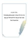 LUẬN VĂN: Giải pháp phòng ngừa và hạn chế rủi ro tín dụng tại NHNo&PTNT Huyện Như Xuân Tỉnh Thanh Hoá