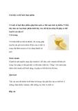 Giải độc cơ thể nhờ thực phẩm