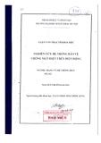Luận văn thạc sĩ: Nghiên Cứu Hệ thống Bảo Vệ Chống Mất Điện Trên Diện Rộng