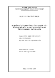 Luận văn: NGHIÊN CỨU ẢNH HƯỞNG CỦA VẬN TỐC CẮT TỚI CƠ CHẾ MÒN DỤNG CỤ PCBN SỬ DỤNG TIỆNTINH THÉP 9XC QUA TÔI