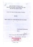 Luận văn thạc sĩ: Phân tích các sơ đồ đường dây dài 500 Kv