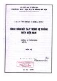 Luận văn thạc sĩ: Tính toán đứt dây trong hệ thống điện Việt Nam