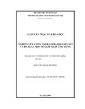Luận văn: NGHIÊN CỨU CÔNG NGHỆ CDMA2000 1XEV-DO VÀ ĐỀ XUẤT MỘT SỐ GIẢI PHÁP ỨNG DỤNG