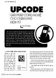 Luận văn thạc sĩ: UPCODE giải pháp công nghệ cho chính phủ điện tử