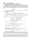 Phần 1: Thống kê cổ điển