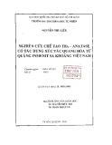 Đề Tài: Nguyên cứu chế tạo TiO2-Anatase có tác dụng xúc tác quang hóa từ quặng Inmenit sa khoáng Việt Nam