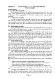 Chương 1: Doanh nghiệp và các loại hình vốn của doanh nghiệp