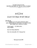Luận văn: NGHIÊN CỨU ỨNG DỤNG PHƢƠNG PHÁP ĐIỀU KHIỂN HIỆN ĐẠI ĐỂ NÂNG CAO CHẤT LƢỢNG ĐIỀU KHIỂN QUÁ TRÌNH GIA NHIỆT