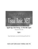 Các giải pháp lập trình Visual Basic .NET- Chương 10 Lập trình Windowns