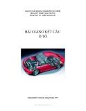 Bài giảng Kết cấu ô tô