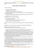GIÁO TRÌNH CÔNG NGHỆ SỬA CHỮA MÁY -  Bài 3  CHUẨN BỊ SỬA CHỮA MÁY