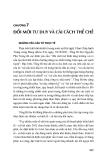 CHƯƠNG 7: ĐỔI MỚI TƯ DUY VÀ CẢI CÁCH THỂ CHẾ