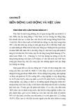 CHƯƠNG 5: BIẾN ĐỘNG LAO ĐỘNG VÀ VIỆC LÀM