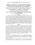Báo cáo đề tài: NGHIÊN CỨU ẢNH HƯỞNG CỦA CÁC ĐIỀU KIỆN NUÔI TRỒNG ĐẾN SINH TRƯỞNG VÀ NĂNG SUẤT THU DẦU CỦA VI TẢO CHLORELLA VULGARIS NHẰM LÀM NGUYÊN LIỆU SẢN XUẤT BIODIESEL