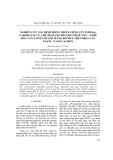 Nghiên cứu xác định đồng thời lượng vết Indi (In), Cadmi (Cd) và Chì (Pb) bằng phương pháp von-ampe hòa tan anot với lớp màng bitmut trên điện cực paste nano cacbon