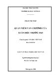Luận văn: Quan niệm văn chương của Xuân Diệu trước 1945