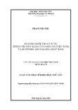 Luận văn: SO SÁNH NGHỆ THUẬT TỰ SỰ TRONG TRUYỆN NGẮN CỦA NAM CAO (VIỆT NAM) VÀ RUINÔXKÊ AKUTAGAWA (NHẬT BẢN)