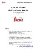Hướng dẫn thực hành - Lập trình Windows nâng cao