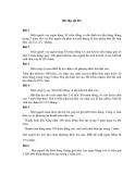 Bài tập quản lý dự án phần mềm