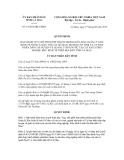 Quyết định Số: 14/2012/QĐ
