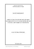 Luận văn: NGHIÊN CỨU KHẢ NĂNG HẤP PHỤ METYL ĐỎ TRONG DUNG DỊCH NƯỚC CỦA CÁC VẬT LIỆU HẤP PHỤ CHẾ TẠO TỪ BÃ MÍA VÀ THỬ NGHIỆM XỬ LÝ MÔI TRƯỜNG