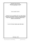 Luận văn: NGHIÊN CỨU SỰ TẠO PHỨC MÀU CỦA MỘT SỐ KIM LOẠI NẶNG VỚI THUỐC THỬ HỮU CƠ BẰNG PHƯƠNG PHÁP TRẮC QUANG VÀ ỨNG DỤNG PHÂN TÍCH ĐÁNH GIÁ MÔI TRƯỜNG