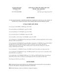 Quyết định Số: 55/2012/QĐ-UBND VỀ VIỆC BAN HÀNH QUY CHẾ PHỐI HỢP QUẢN LÝ NHÀ NƯỚC ĐỐI VỚI CÁC DỰ ÁN ĐẦU TƯ TRONG NƯỚC NẰM NGOÀI KHU CÔNG NGHIỆP TRÊN ĐỊA BÀN TỈNH BẮC NINH.
