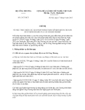 Chỉ thị Số: 13/CT-BCT VỀ VIỆC THỰC HIỆN CÁC GIẢI PHÁP NHẰM THÁO GỠ KHÓ KHĂN CHO SẢN XUẤT KINH DOANH CỦA CÁC DOANH NGHIỆP