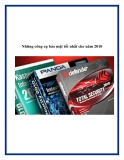 Những công cụ bảo mật tốt nhất cho năm 2010