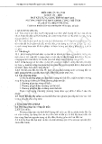 Tiêu chuẩn ngành 14 TCN 151:2006 .Đất xây dựng công trình thủy lợi - phương pháp xác định khối lượng thể tích của đất tại hiện trường