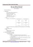 Bài tập môn học Phân tích thiết kế hệ thống