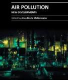 AIR POLLUTION – NEW DEVELOPMENTS