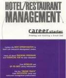 Ebook Hotel/Restaurant management career starter