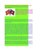 Lịch sử quan hệ đặc biệt Việt Nam-Lào, Lào-Việt Nam (1930 -2007)