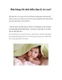 Bán hàng tốt nhờ hiểu tâm lý trẻ con?