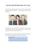 """Top 10 bí quyết để khách hàng """"rời xa"""" bạn"""