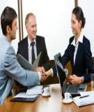 Đàm phán thành công có nên theo quy tắc?