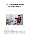 TOP 10 bí quyết cân bằng cuộc sống giữa gia đình và công việcLisa Druxman, CEO
