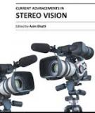 CURRENT ADVANCEMENTS IN STEREO VISION