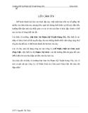 """ĐỀ TÀI """" Tìm hiểu đặc điểm hoạt động kinh doanh của Công Ty Cổ Phần Thức ăn Chăn nuôi Pháp Việt """""""