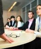 Tạo dựng lòng tin để khích lệ nhân viên