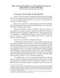 Thực trạng phát triển và cơ chế chính sách đối với Khu Kinh Tế Cửa khẩu biên giới