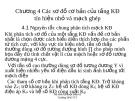 Chương 4 Các sơ đồ cơ bản của tầng KĐ tín hiệu nhỏ và mạch ghép