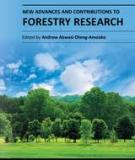 NEW ADVANCES AND CONTRIBUTIONS TO FORESTRY RESEARCH