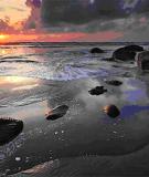 Tạo hình đẹp với cảnh biển