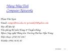 Mạng Máy Tính - Phạm Văn Nam